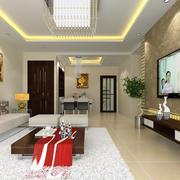 传统型客厅设计图片