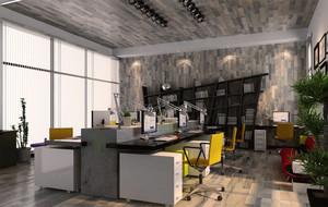 118平米时尚风格loft装修效果图