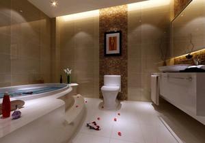 精致豪华149平米三居室卫生间设计效果图