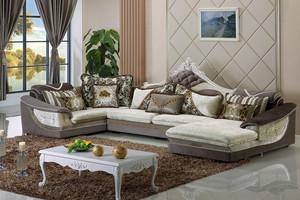 二居室唯美型欧式布艺沙发效果图片
