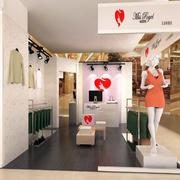 韩式14平米小型服装店装修效果图