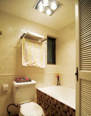 20平米创意卫生间毛巾架图片
