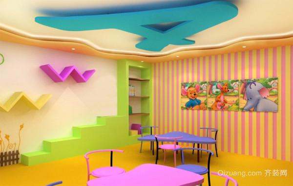 环境优美幼儿园装修设计效果图