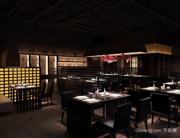 120平米日式风格餐厅装修效果图