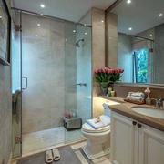 欧式风格别墅奢华卫生间装修效果图