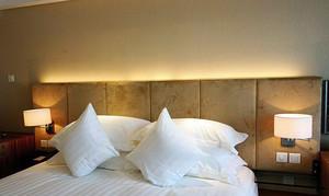 小户型精致床头壁灯效果图片