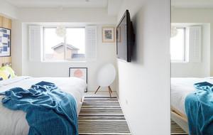24平米欧式田园客厅家具装修效果图