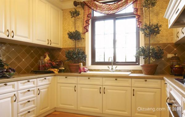 120平米大户型欧式风格厨房装修设计效果图欣赏
