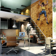 时尚风格loft设计图片