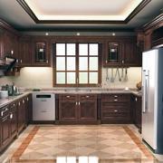 稳重大气的厨房设计