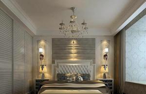 单身公寓造型新颖床头壁灯效果图片