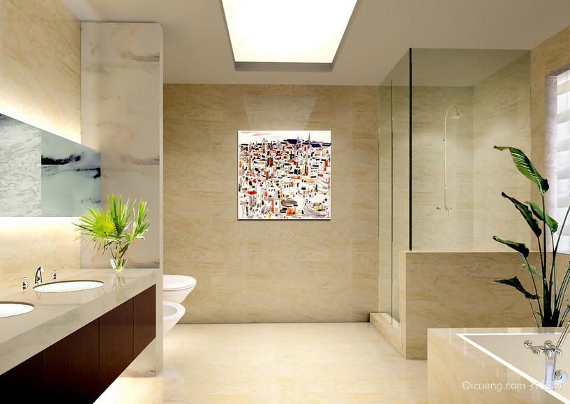 简约都市10平米卫生间设计装修效果图