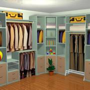 现代化清新衣柜装饰设计