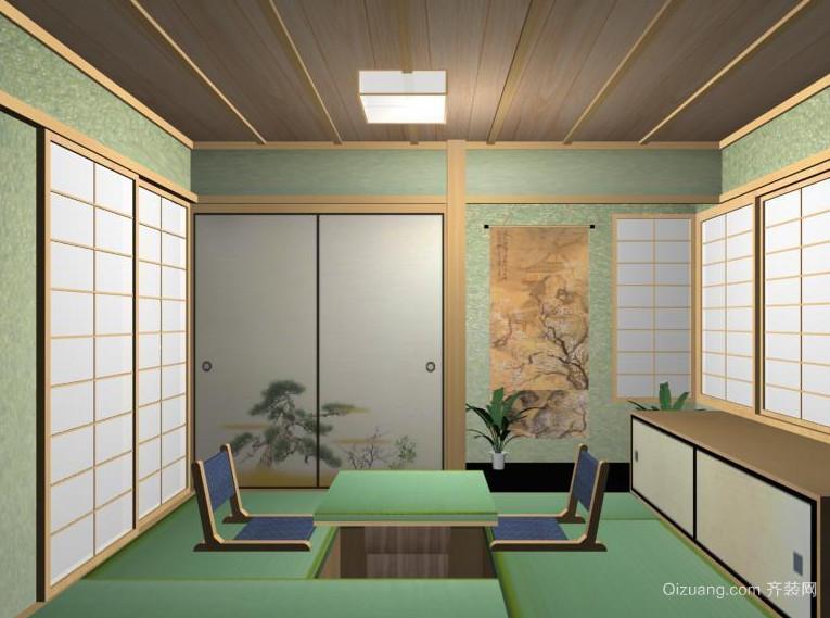舒适大户型日式风格实用的榻榻米装修效果图