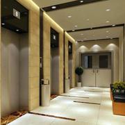 高档小区电梯装潢设计效果图