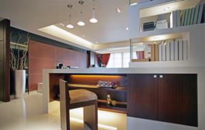 简约别墅创意型小吧台装修设计效果图