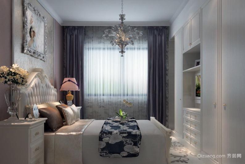 新古典大户型老房卧室改造装修效果图