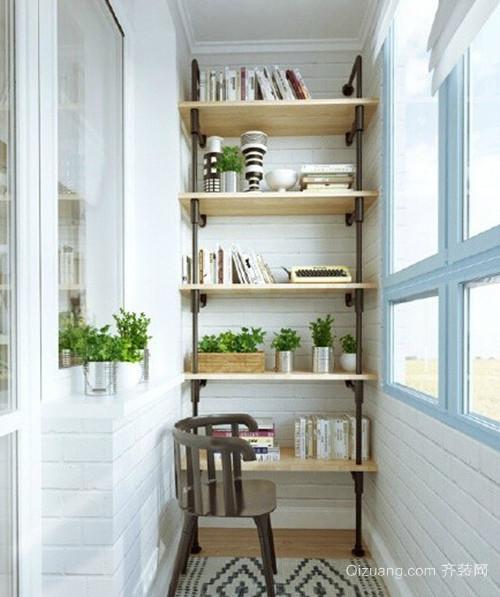 26㎡简单小户型家居阳台装修设计效果图