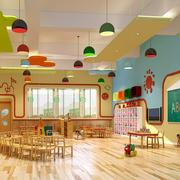 幼儿园简约的灯饰装饰