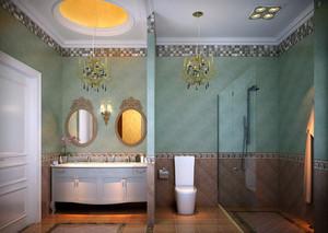 新古典8平米小卫生间装修图片