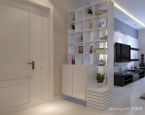 138平米三室一厅现代简约风格玄关装修效果图