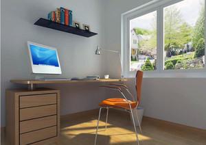 现代都市大户型精致的小书房装修效果图实例