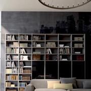 深色调书房装修大全