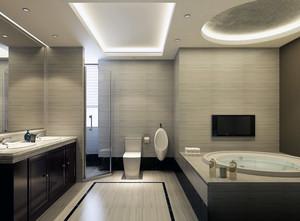 80平米小户型欧式精美的卫生间装修效果图