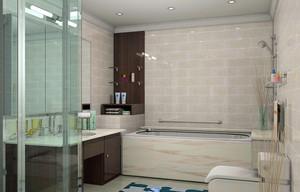别墅唯美系列卫生间装修效果图