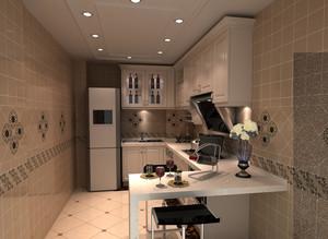 朴素90平米小户型家居橱柜设计效果图