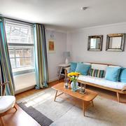 清爽北欧20平米小客厅装修效果图