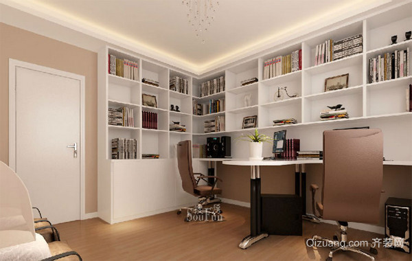 20平米小型书房设计装修效果图
