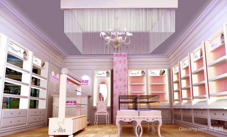 田园风格90平米房屋客厅装修设计效果图