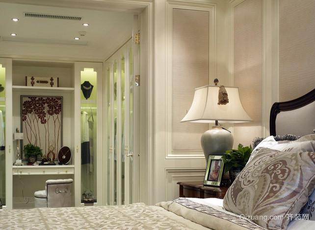小洋房欧式风格卧室护眼台灯装修效果图