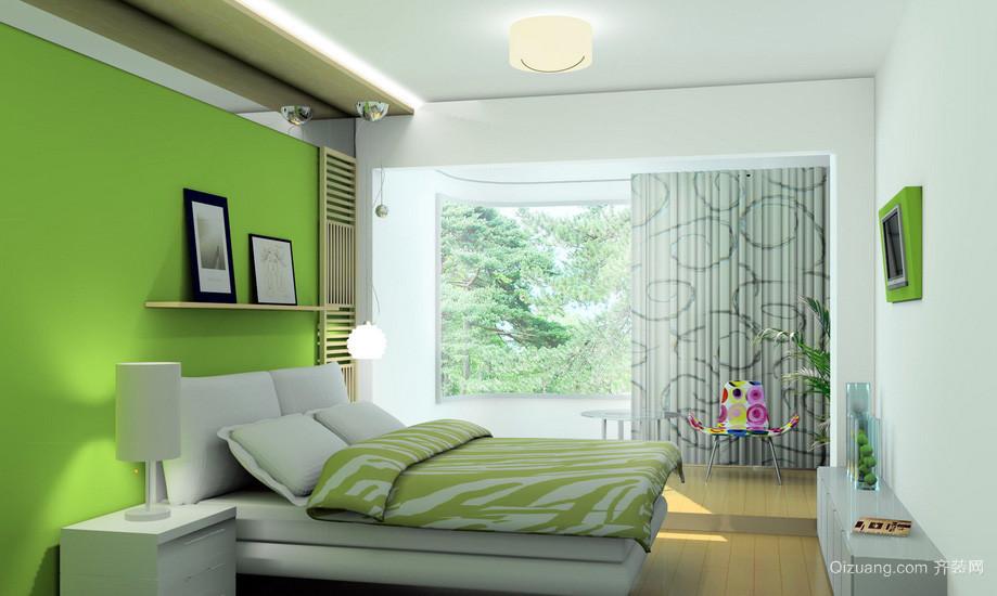 清新简约老房初中生卧室改造效果图