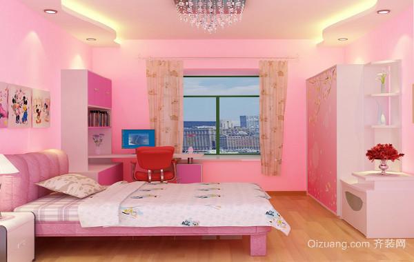 90平米大户型欧式儿童房装修效果图实例欣赏