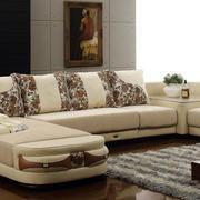 复式楼现代简约风格客厅沙发装修效果图