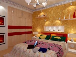 别墅宜家风格卧室装修效果图