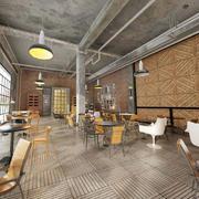 天空之城咖啡店装修效果图