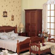 美式简约卧室衣柜家具装饰