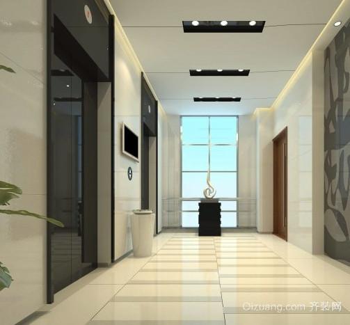 自然风格电梯装潢设计效果图