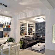 时尚都市60平米旧房改造装修效果图