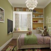 清爽北欧风格15平米儿童房装修效果图