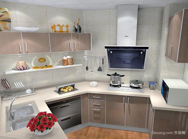 都市个性公寓6平米橱柜设计效果图
