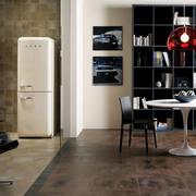时尚新古典小公寓仿古砖地板贴图
