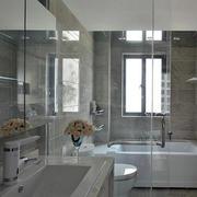 卫生间简约大理石瓷砖装饰