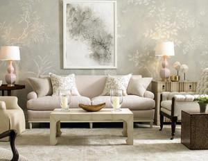 90平米客厅欧式简约风格沙发装修效果图