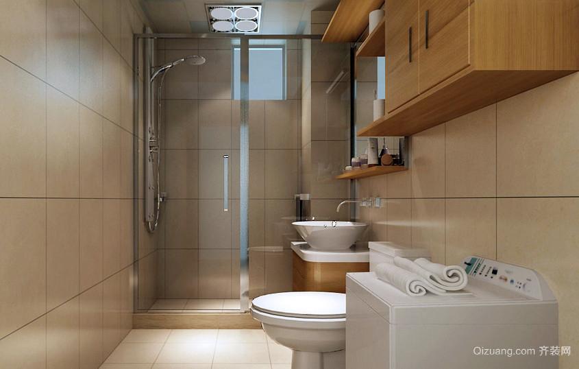 简约现代5平米小卫生间装修图片