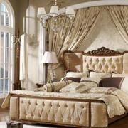 美式简约风格床饰家具装饰