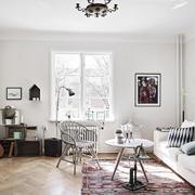 时尚北欧风格小客厅装修效果图
